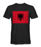 Albania country flag t-shirt