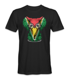 Guyana country flag on an elephant t-shirt