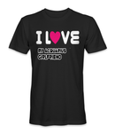 I love my Aquarius girl horoscope t-shirt