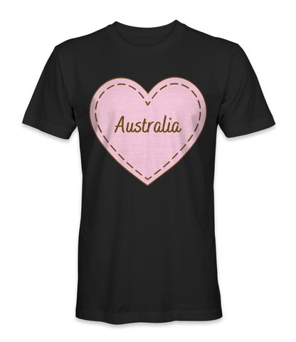 I love Australia country t-shirt