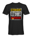Straight outta Germany country t-shirt