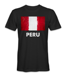 Peru country flag t-shirt