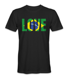 I love Brazil country t-shirt