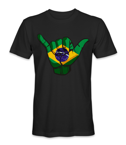 Brazil country is about peace and love t-shirt