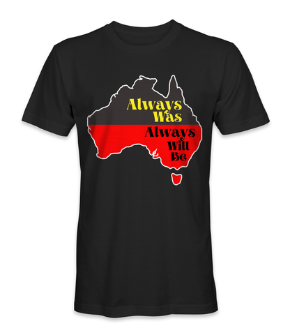 Australia country map t-shirt