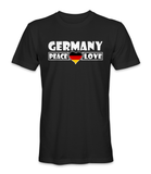 Germany country is about peace and love t-shirt