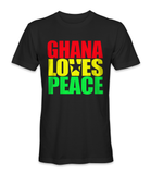 Ghana country loves peace t-shirt