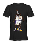 Dwight Howard and Lebron James basketball players t-shirt
