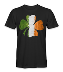 Ireland country flag on leaf t-shirt