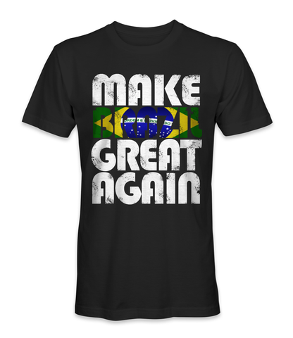 Make Brazil great again country t-shirt