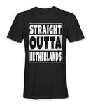 Straight outta Netherlands country t-shirt