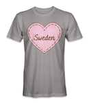 I love Sweden country t-shirt
