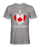 I love Canada country t-shirt