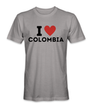 I love Colombia country t-shirt