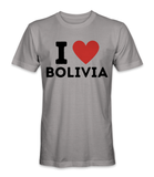 I love Bolivia country t-shirt