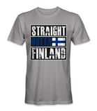 Straight outta Finland country t-shirt