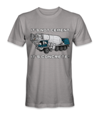 It's not cement, it's concrete t-shirt