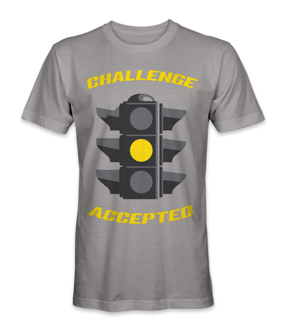 Challenged accepted t-shirt