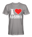 I love Algeria country t-shirt