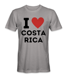 I love Costa Rica country t-shirt