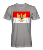 Indonesia country flag t-shirt