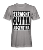 Straight outta Argentina country t-shirt