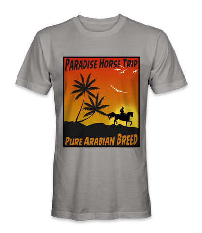 Paradise horse trip.. pure Arabian breed t-shirt
