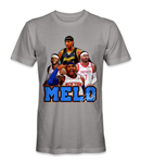 Carmelo Anthony basketball player t-shirt
