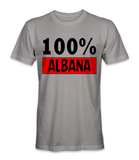 I'm 100% Albanian country t-shirt