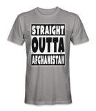 Straight outta Afghanistan country t-shirt
