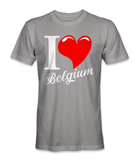 I love Belgium country t-shirt