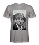 Michael Scott.. thug life t-shirt