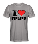 I love Finland country t-shirt