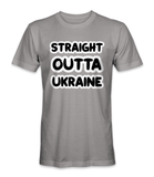 Straight outta Ukraine country t-shirt
