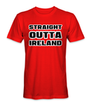 Straight outta Ireland country t-shirt