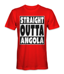 Straight outta Angola country t-shirt