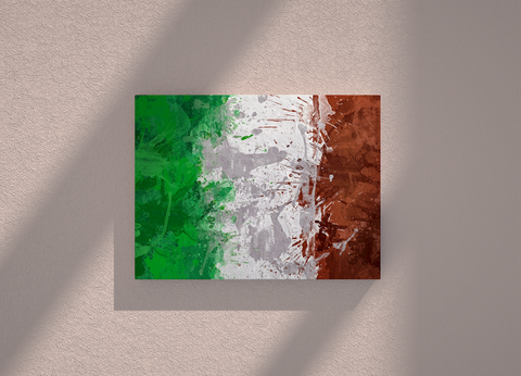 Italy country canvas