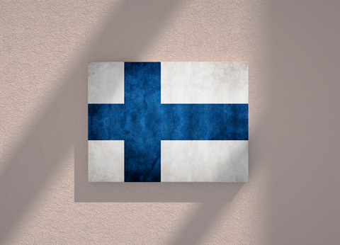 Finland country canvas