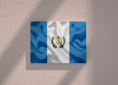 Guatemala country canvas