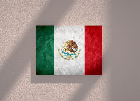 Mexico country canvas