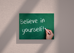Believe in yourself canvas