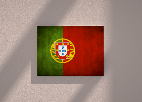 Portugal country canvas