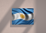 Argentina country canvas