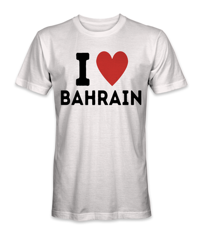 I love Bahrain country t-shirt