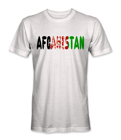Afghanistan country t-shirt
