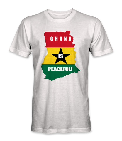 Ghana country is peaceful t-shirt