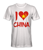 I love China country t-shirt