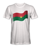 Burkina Faso country flag t-shirt
