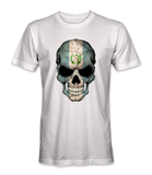 Guatemala country flag on a skull t-shirt