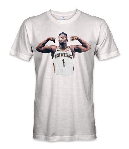 Zion Williamson basketball player t-shirt
